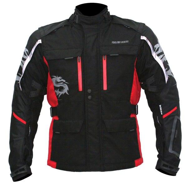 Arlen Ness NJ-8372 Jacket - Black / Red