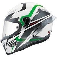 AGV Corsa Velocity - White / Black / Green