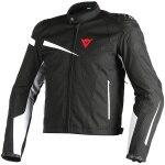 Dainese Veloster Textile Jacket - Black / Black / White