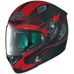 X-Lite X-802RR Ultra Carbon Shiny Mesh - Carbon / Red